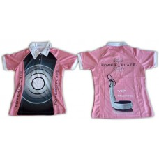 Polo-Shirt Power Plate rosa