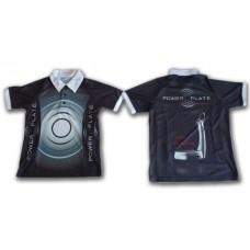 Polo-Shirt Power Plate schwarz