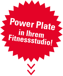 Power Plate in Ihrem Fitnessstudio!