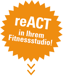 reACT in Ihrem Fitnessstudio!